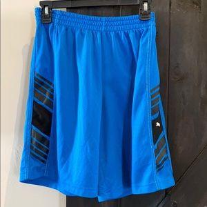 Puma blue and black shorts Boys size large